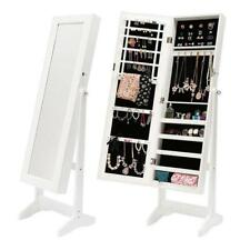 Mirror Jewellery Cabinet LUVO - White