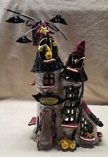 New Blue Sky Clayworks Count Batulas Castle Halloween Tealight Dracula 2010