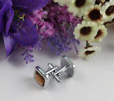 1Set topaz rhinestone square cufflink Cuff links #22236