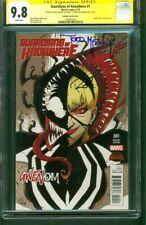 Guardians Knowhere 1 CGC 2XSS 9.8 Todd McFarlane Spider Gwen Venom variant