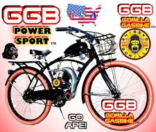 """66cc/80cc Motorized Bike Kit And 26"""" Deluxe Bike And Power Pipe"""