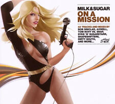 MILK & SUGAR =on a mission= Inpetto/Axwell/Montana/Sinclar..=2CD= groovesDELUXE!