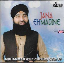 Muhammad Asif chishti - Jana EH madine - Vol. 10 -Nuevo Naat Cd