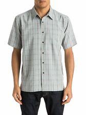 QUIKSILVER Waterman Men's S/S Button Shirt MALINDI - SLA0 - Medium - NWT