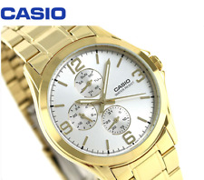 Casio Men's Standard MTP-V301G-7A Fashion Stainless Steel Dress Analog Watch New