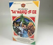 """The Wizard Of Oz"" VHS #MV600001 1985 Clamshell MGM/UA"