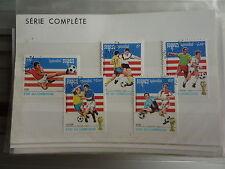 - CAMBODGE - sports - football - 1985