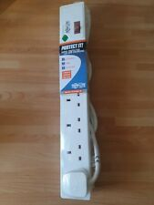 More details for tripp-lite tlp6b18 -6-outlet surge protector british bs1363a . extension lead 6