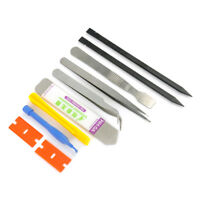 Cool 10 IN 1 Mobile Repair Opening Tools Pry Screwdriver Kit Set For Cell Phone
