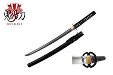 Musashi Tsuba Handmade Wakizashi Samurai Sword Medium Katana Sharp Real Rayskin