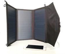 21W 5V Outdoor Foldable Portable Solar Panel Power Charger Ladegerät Battery