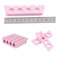 20 X Nail Art Salon Sponge Foam Finger Toe Separator Pedicure Manicure Tool
