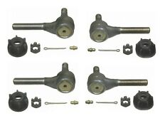 For Dodge Coronet Plymouth Set of 2 PairS Front Inner & Outer Tie Rod End Moog
