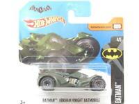 Hotwheels Batman Arkham Knight Batmobile 88/365 Short Card 1 64 Scale Sealed New