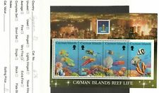 Cayman Islands Scott #676 Reef Life Souvenir Sheet 1994 MNH