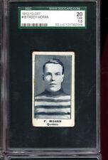 1912-13 C57 Paddy Moran #18 SGC 20 FAIR 1.5 Graded Hockey Card *ONLY*