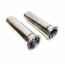 Chrome Exhaust Tail Pipe Tip Set Of 2 BMW 528e 535i 535is 635csi E23 E24 E28