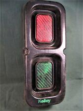 VINTAGE KELLEY TRUCK GARAGE STOPLIGHT TRAFFIC LIGHT A-