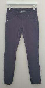 Athleta Women's S Small Bettona Jeggings Pants Leggings Purple Pockets 818620
