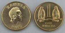 Sambia / Zambia 1 Kwacha 1989 p26 unz.
