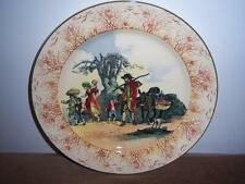 RARE ROYAL DOULTON OLD ENGLISH SCENES GIPSIES D4984 PLATE SERIES WARE Dated 1931