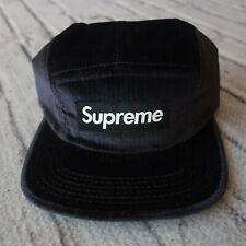 Supreme Box Logo Herringbone 5 Panel Strapback Hat Cap 2015 2016