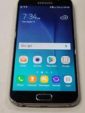New listing Samsung Galaxy S6 Sm-G920A,32 Gb,Locked At&T,Glass Cracke 00006000 d,Heavy Shadow : Aa242