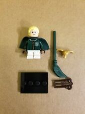 Lego Harry Potter / Fantastic Beasts Minifigures Draco Malfoy w/Quidditch Robes