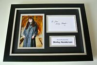 Shirley Henderson SIGNED A4 FRAMED Photo Autograph Display Harry Potter & COA