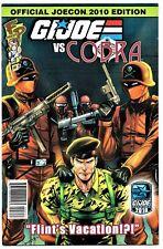 FUN PUBLICATIONS FP COMIC G I. JOE VS COBRA #3  2010   Official Joecon Edition