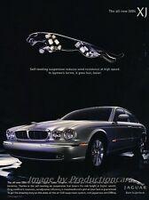 2004 Jaguar Xj Xj8 Original Advertisement Print Art Car Ad J852