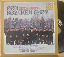 DON KOSAKEN CHOR   LP Serge Jaroff - 12 Lieder