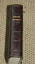 1852 3 Cahiers d'histoire naturelle Edwards zoologie botanique géologie planches