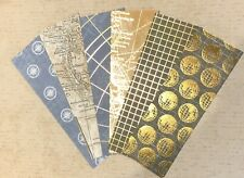 6 World Of GOOD Stampin Up DSP Globe Maps History Bookmarks Cardstock Book HC 💕