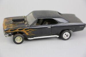 Vintage Monogram Chevy Super Sport Drag Racing Plastic Model Kit Built Junkyard