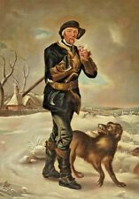 """After Thomas Barker (England, 1769-1847) Period Oil Painting """"The Woodsman"""""""