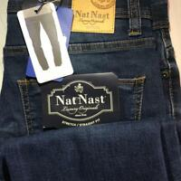 *NWT* Nat Nast Men's Luxury Originals Stretch Straight Fit Jeans