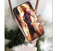 Captain Marvel iPhone case cover accessories Avenger 15 ver. Colourful superhero