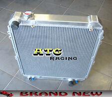 3 Core Aluminum Radiator for Toyota Hilux surf KZN130 1KZ-TE 3.0 TD 1993-1996