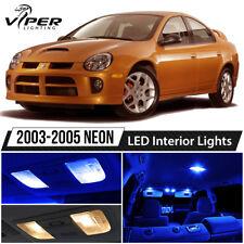 2003-2005 Dodge Neon SRT4 Blue LED Interior Lights Package Kit
