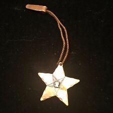 Vintage Masonic Star Copper Clip