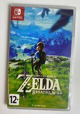 Legend of Zelda: Breath of the Wild Nintendo Switch Brand New & Factory Sealed