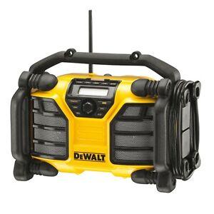 Dewalt Baustellen Radio DCR017 DAB+ Radio Digital