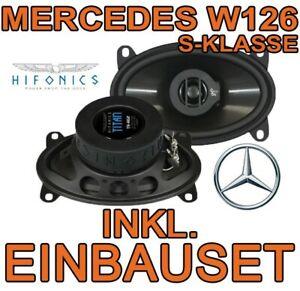 Hifonics Haut-Parleur pour Mercedes Benz CLASSE S W126 Titan 2-Wege Boxe Voiture