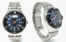 Swatch Irony scuba 200 stainless steel diver watch 44 mm diving clock sub reloj
