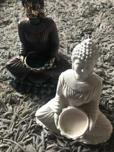 Latex Mould To Create This Buddha Candle Holder Ornament, Latex Only Mold