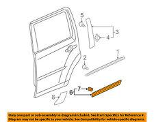 HONDA OEM 2009 Pilot REAR DOOR-Body Side Molding Right 75303SZAA11ZD