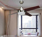 CRC004-BN Simplicity 44 Inches 2 Lights D110 CM Wall Control Ceiling Fans Light
