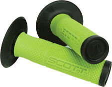 Scott USA Sx2 Green Black Handlebar Mx Grips Fits Kawasaki Kx Kdx Klx  FREE SHIP