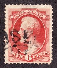 US 148 6c Lincoln Used VF w/ Traverse City, MI. 'Used Up' Fancy Cancel